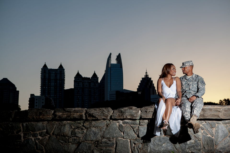 Just Engaged: Aleta and Montae's Engagement Story