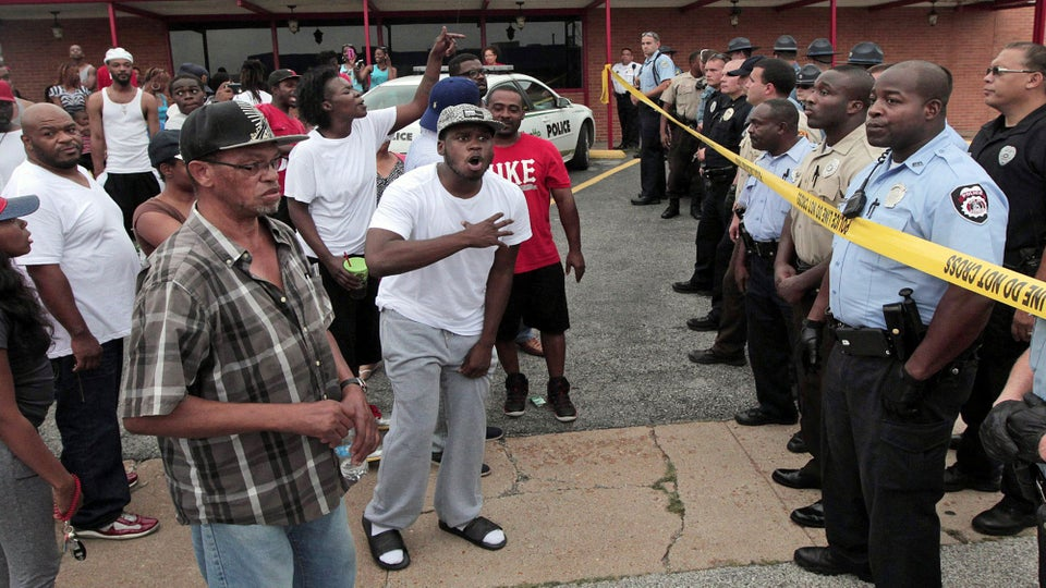 St. Louis Community Reacts to Fatal Police Shooting of Unarmed Teen, Michael Brown
