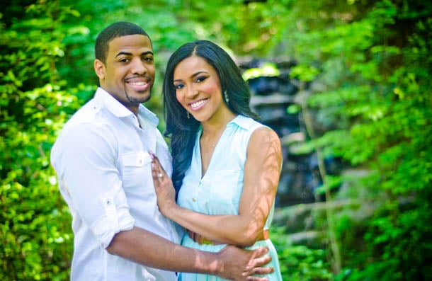 Just Engaged: Ashley and Phillip's Engagement Story