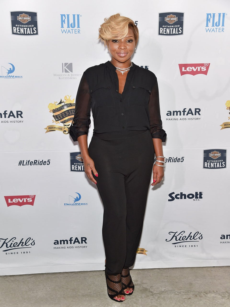 Mary J. Blige Lives in London for Month to Record New Album