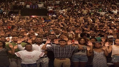 Howard University Students Join 'Don't Shoot' Protest
