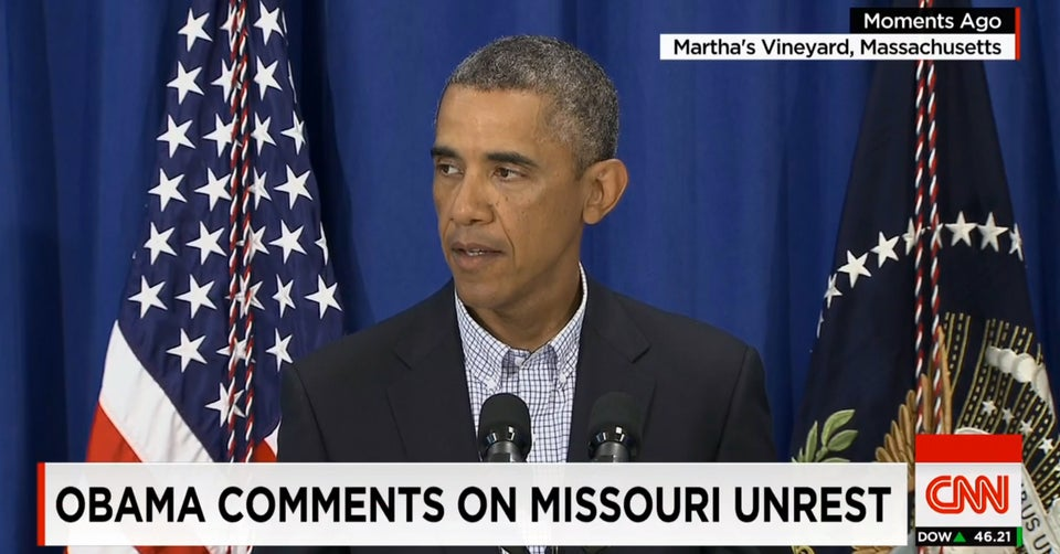 President Obama Says Police Have 'No Excuse' For Excessive Force in Ferguson Protests