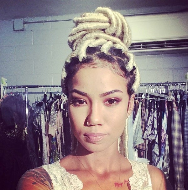 Jhene Aiko Proves Faux Locs Are The Style of The Summer