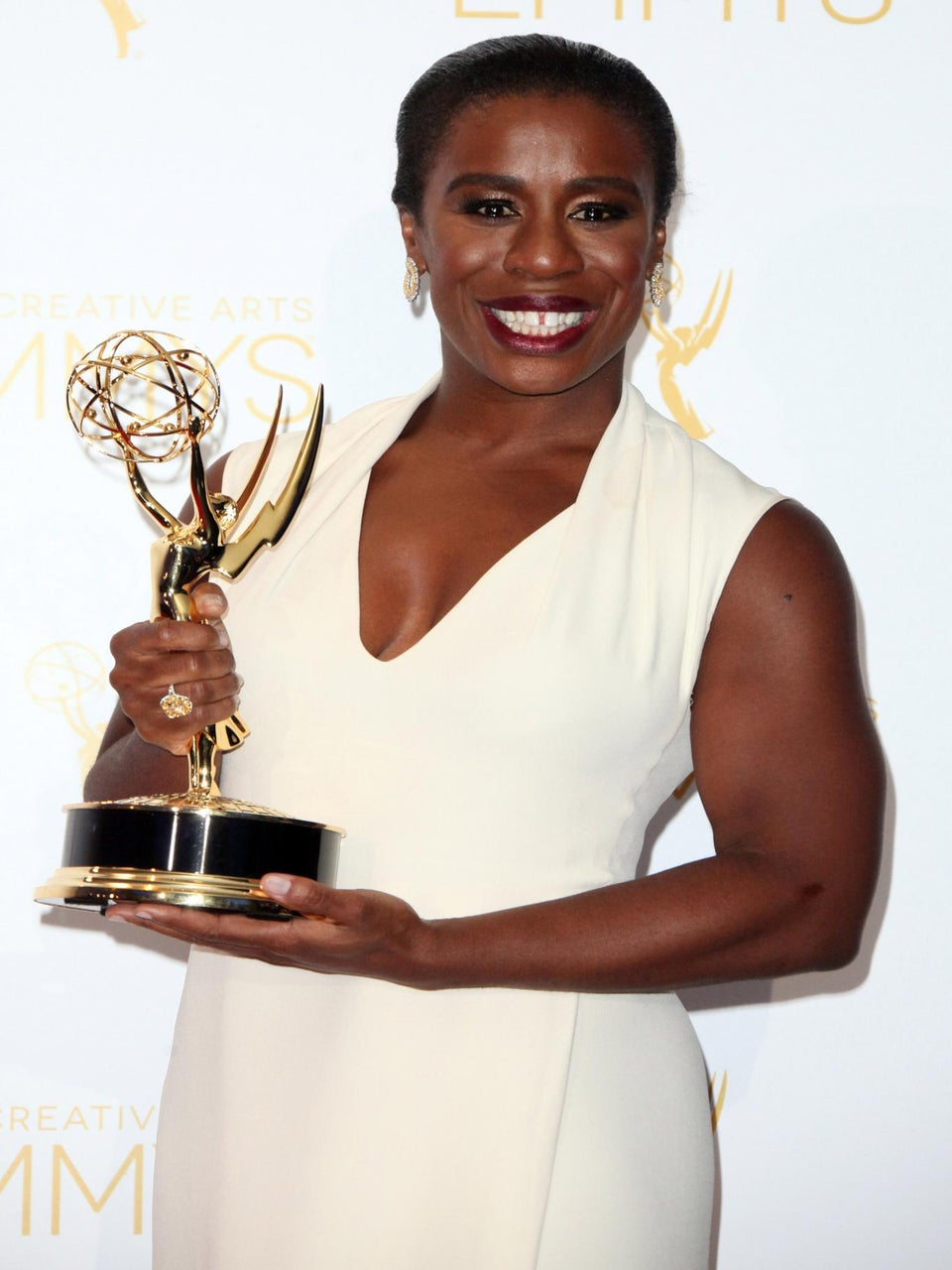 'Orange is the New Black' Star Uzo Aduba and 'Scandal' Star Joe Morton Take Home Emmys