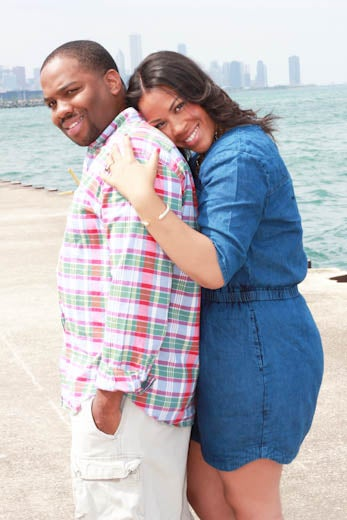 Just Engaged: Yondi and Michael's Engagement Story