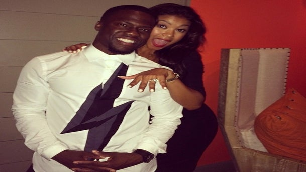 Kevin Hart Proposes to Girlfriend Eniko Parrish