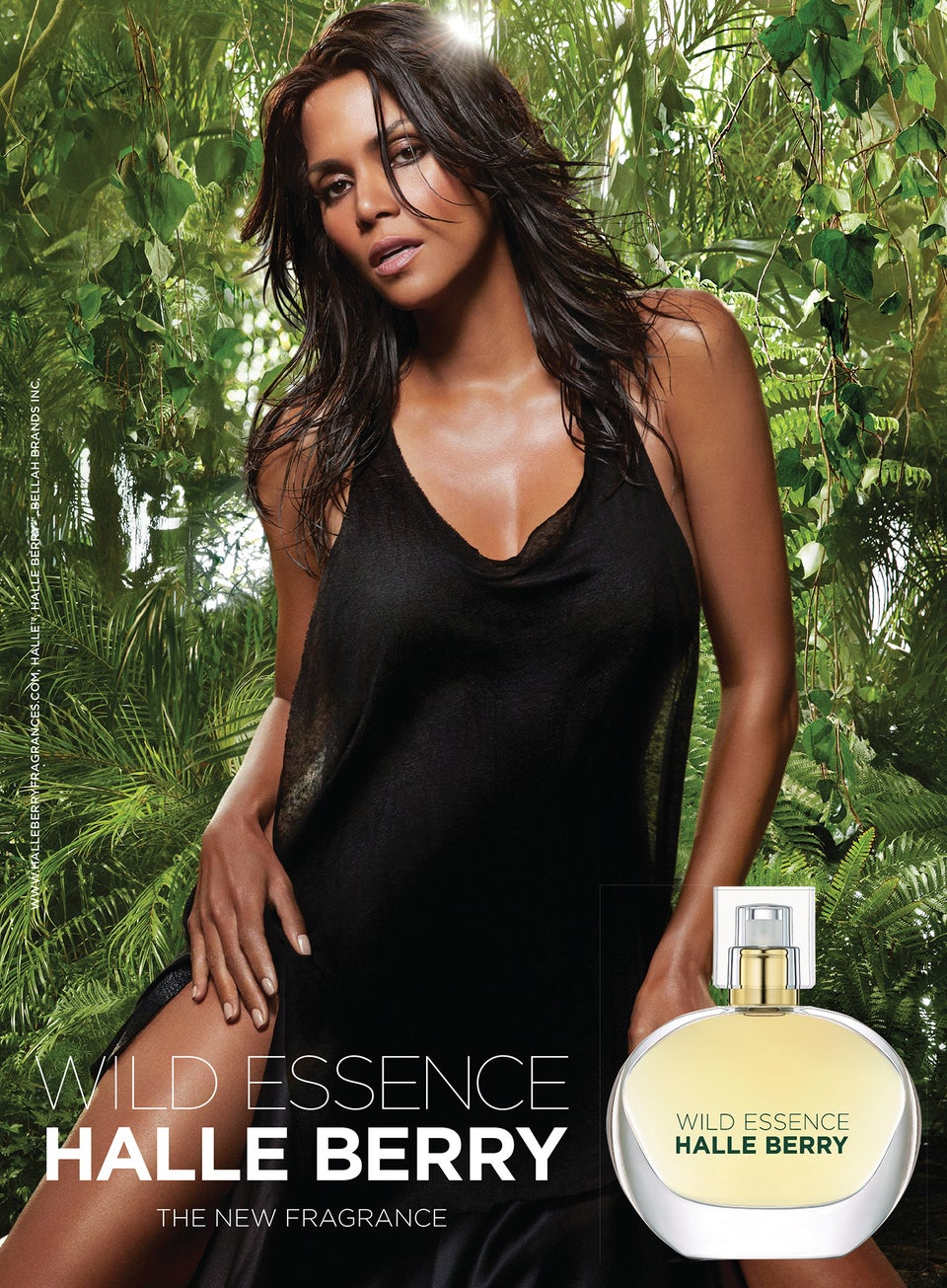 Halle Berry Launches New Fragrance, Wild Essence Halle Berry
