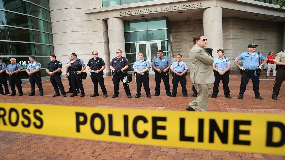 Ferguson Police Start Wearing Body Cameras