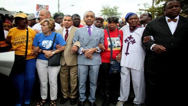 Rev. Al Sharpton Calls For March On Washington Following Garner Decision
