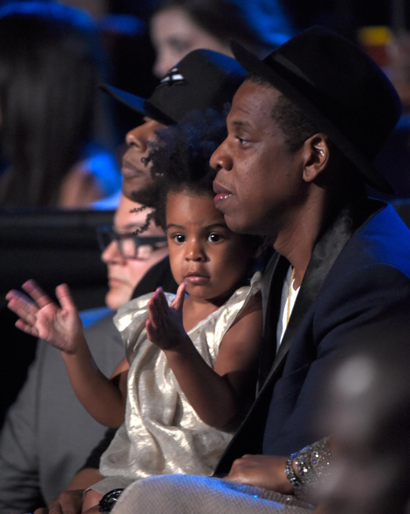 This Clip Of Jay Z Dancing with Blue Ivy Backstage At Formation Tour is the Cutest Thing