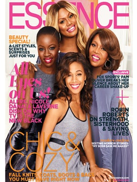 Alfre Woodard, Laverne Cox, Nicole Beharie, Danai Gurira Shine on ESSENCE's October Cover