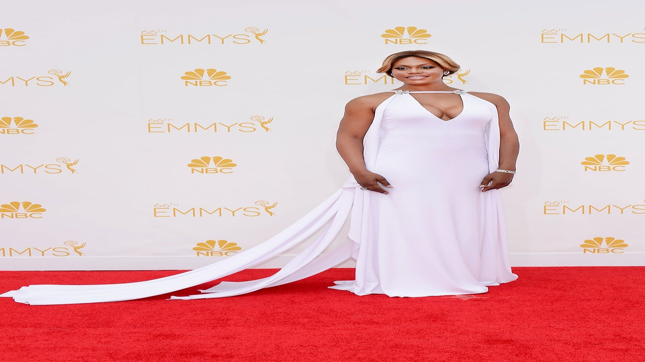 Laverne Cox Cried Tears of Joy While Prepping for Emmys