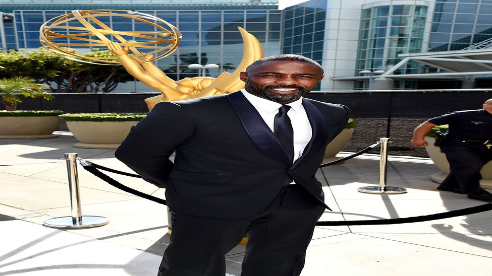 Must-See: Idris Elba Jokes About That Mysterious Bulge Photo