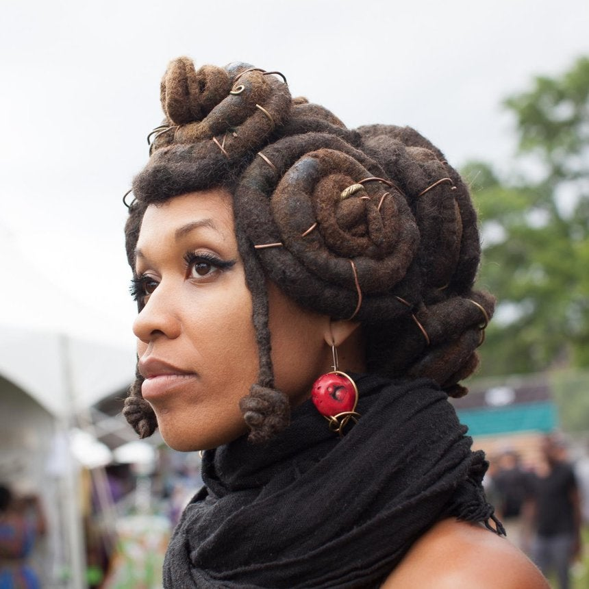 Hair Street Style: AFROPUNK Fest