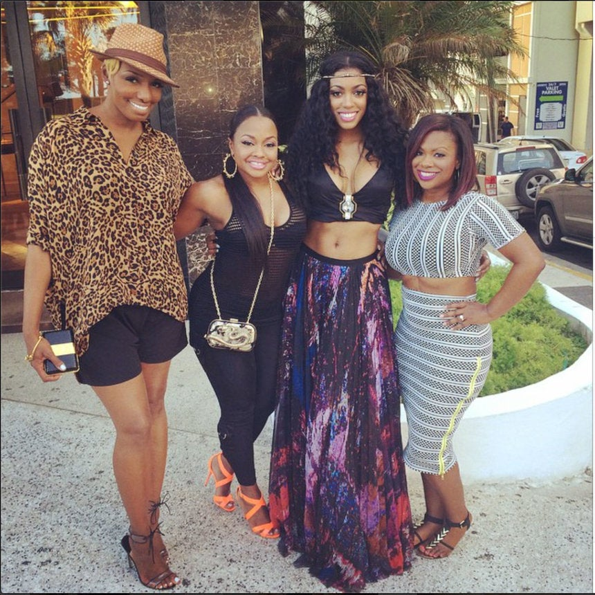 Photo Fab: The Cast of 'Real Housewives of Atlanta' Vacations in San Juan