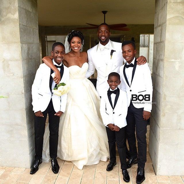 Inside Gabrielle Union and Dwyane Wade's Wedding Day   Essence