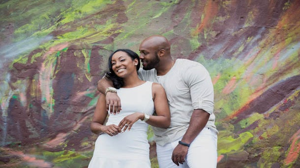 Just Engaged: Erica and Emem's Engagement Story