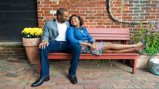 Just Engaged: Jacquelyn and Michael's Engagement Story