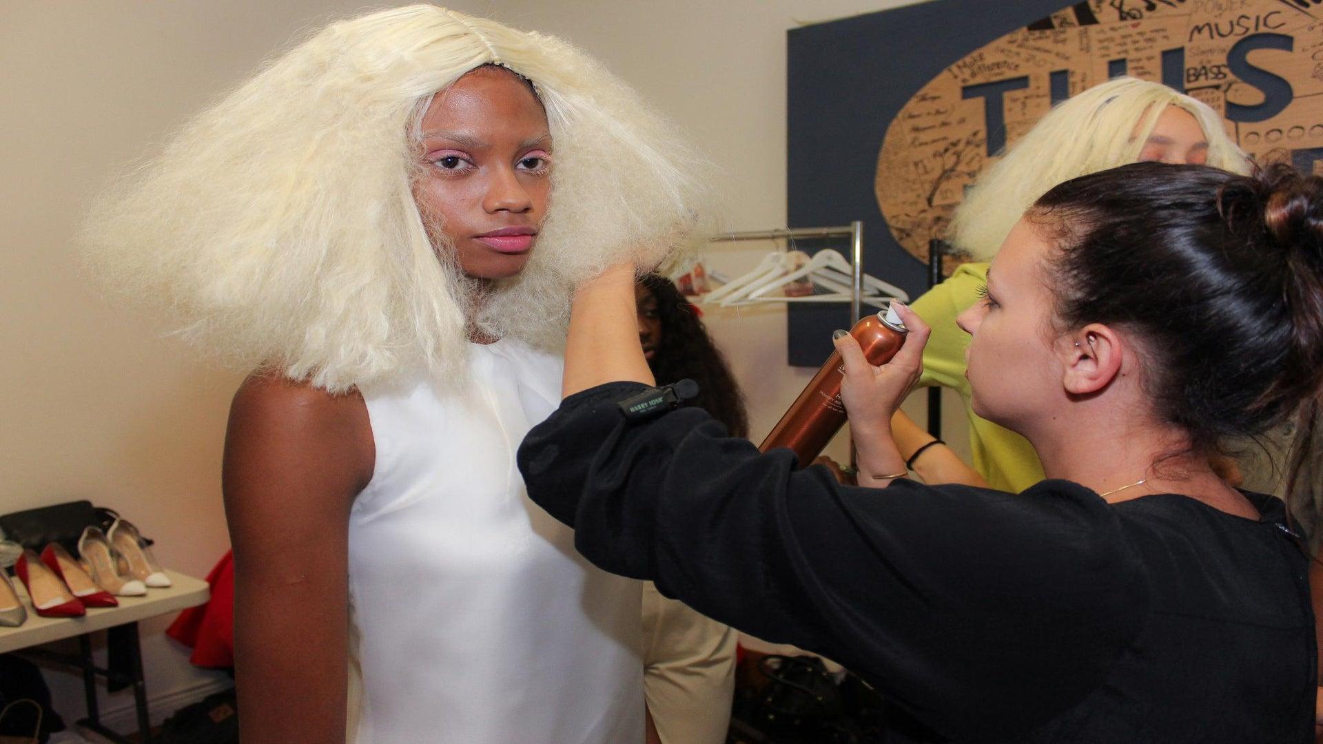 Mizani Kicks Off NYFW With Blonde, A-Line Bobs