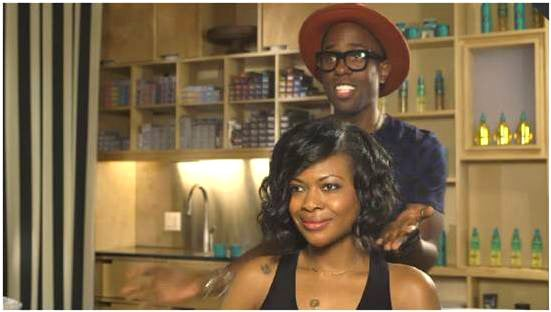 PROMOTION: Hair Tutorial on the 'Faux Bob' with Celebrity Hairstylist Johnny Wright