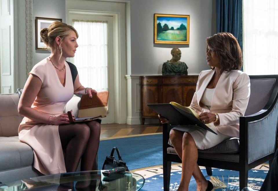 First Look: Alfre Woodard Is President on NBC's 'State of Affairs'
