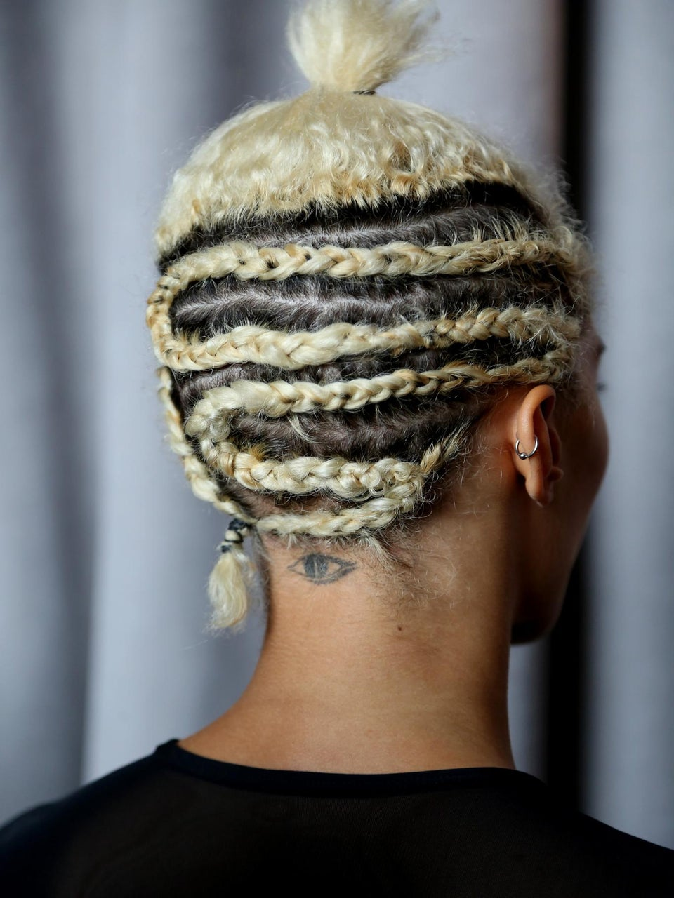 Cornrows and Topknots Spotted on The Spring '15 Runways