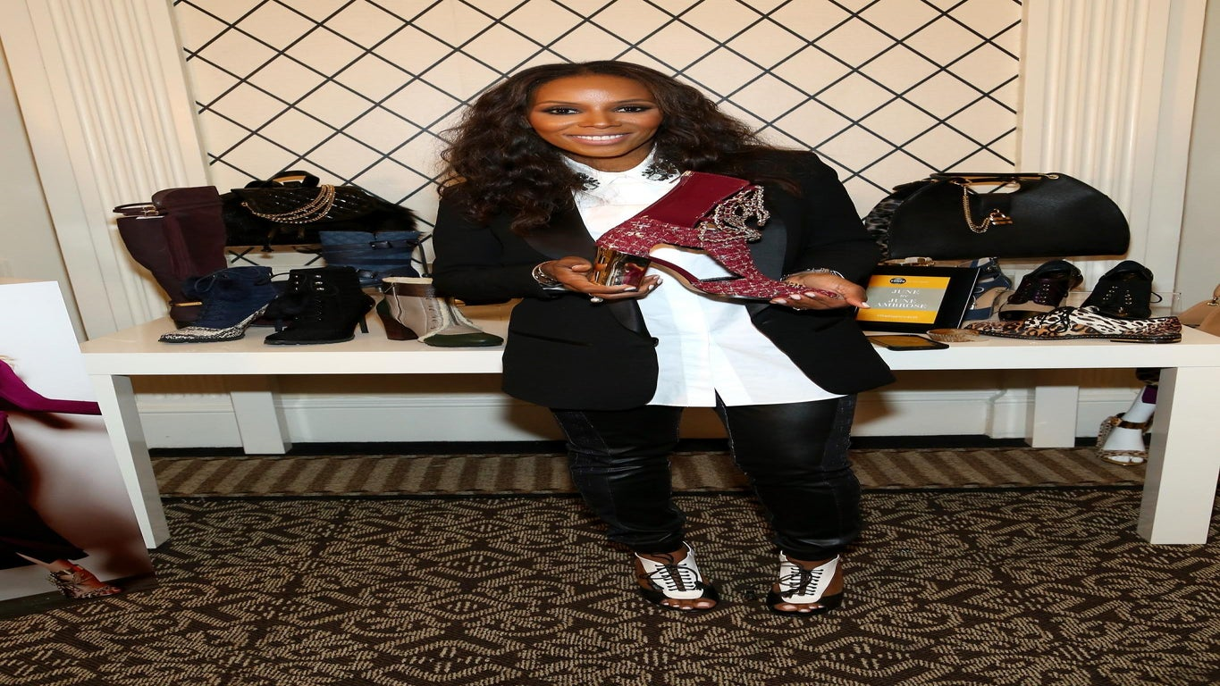 EXCLUSIVE: June Ambrose Dishes on New HSN Line