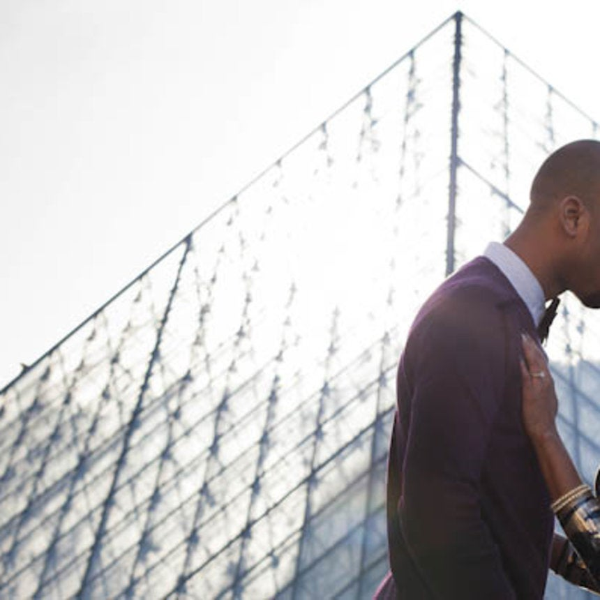 Just Engaged: Sonovia and Ian's Paris Engagement Photos