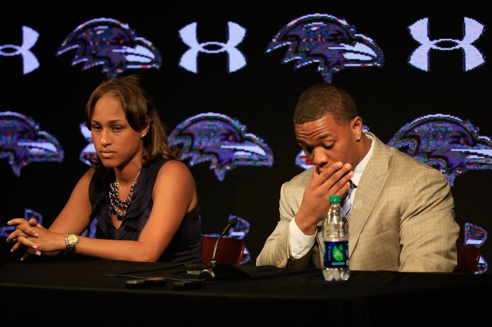 Janay Rice Stands By Husband Ray Rice, Releases Statement on Instagram