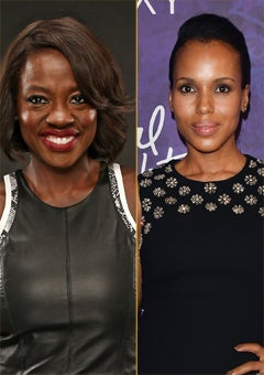 Kerry Washington and Viola Davis: Steamy Sex Scenes are 'Freeing'