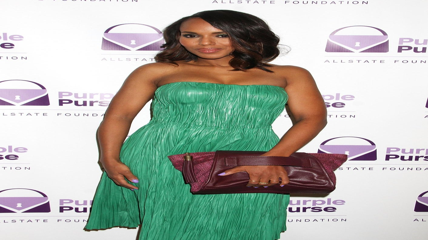 Kerry Washington On Designing A Purple Purse for Domestic Violence