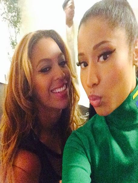 Nicki Minaj Dishes on 'Emotional' Paris Performance with Beyonce