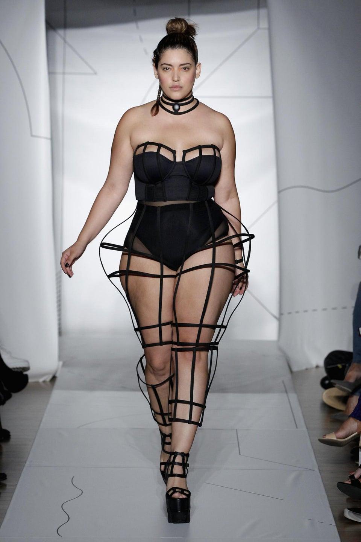 Curvy Model of The Month: Denise Bidot