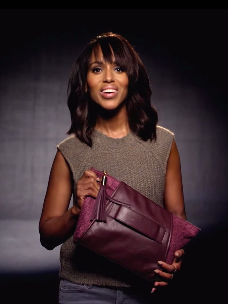 Kerry Washington's PSA on Financial Abuse