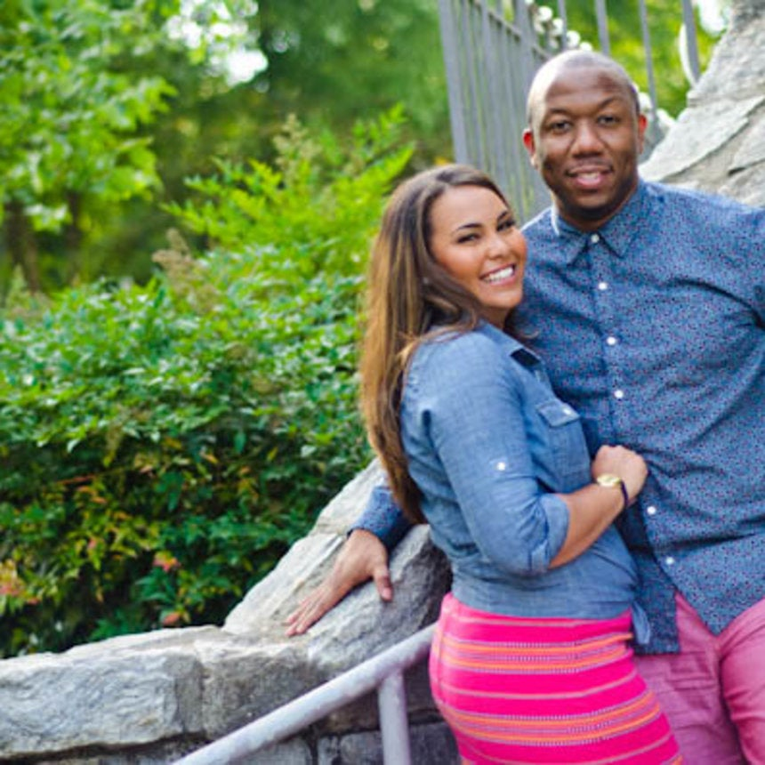 Just Engaged: Ayanna and Anthony's Engagement Photos