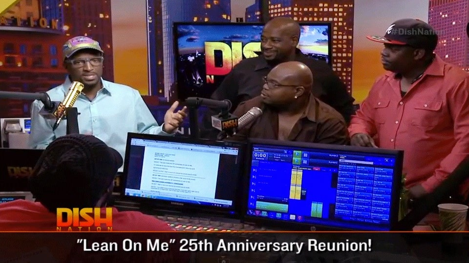 Must-See: Cast of 'Lean on Me' Sings School Song on 25th Anniversary of the Movie