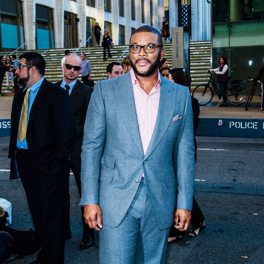 Coffee Talk: Tyler Perry Reflects on His First Christmas As a Father