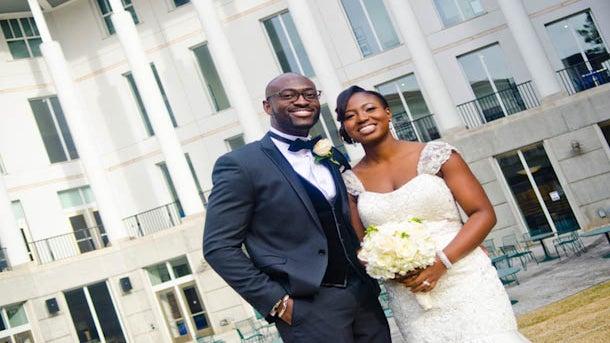 Bridal Bliss: Demi and Ife's Georgia Wedding