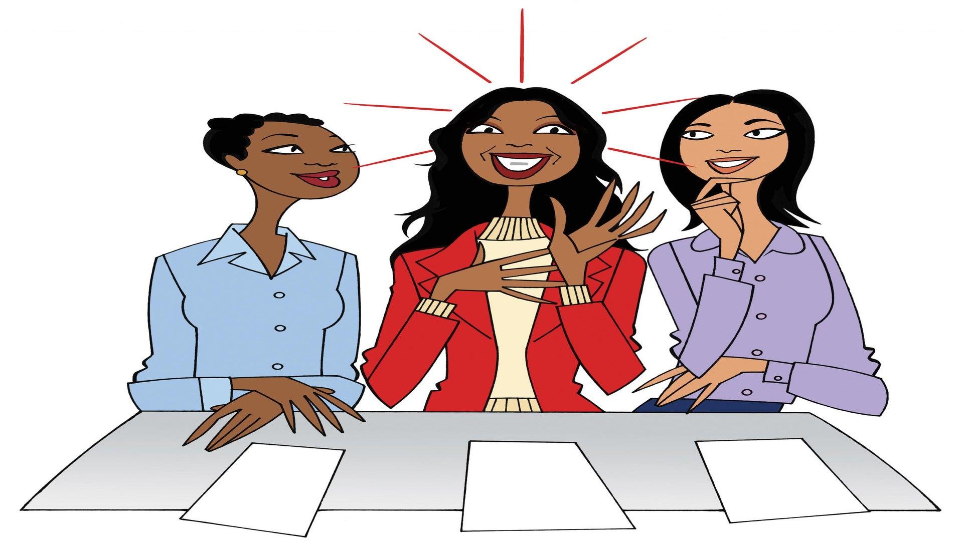 Black Women At Work