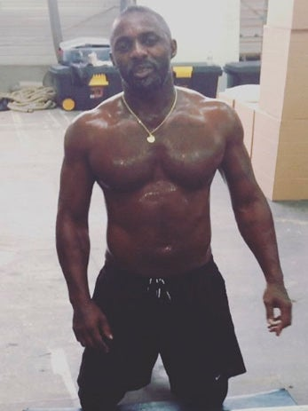 Must See: Idris Elba Shares Sexy Shirtless Workout Video