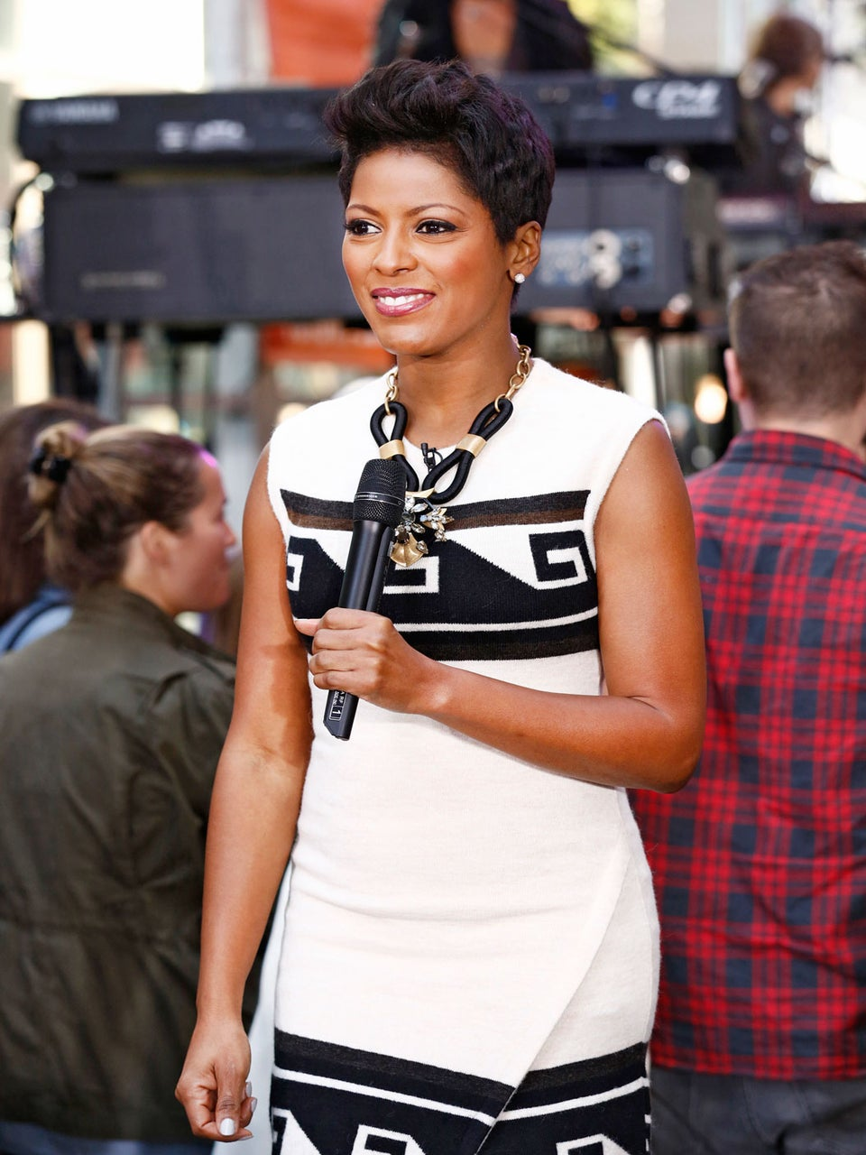 Tamron Hall Trades Her Pixie for an Afro