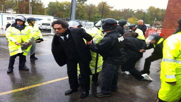 Cornel West Arrested While Protesting in Ferguson