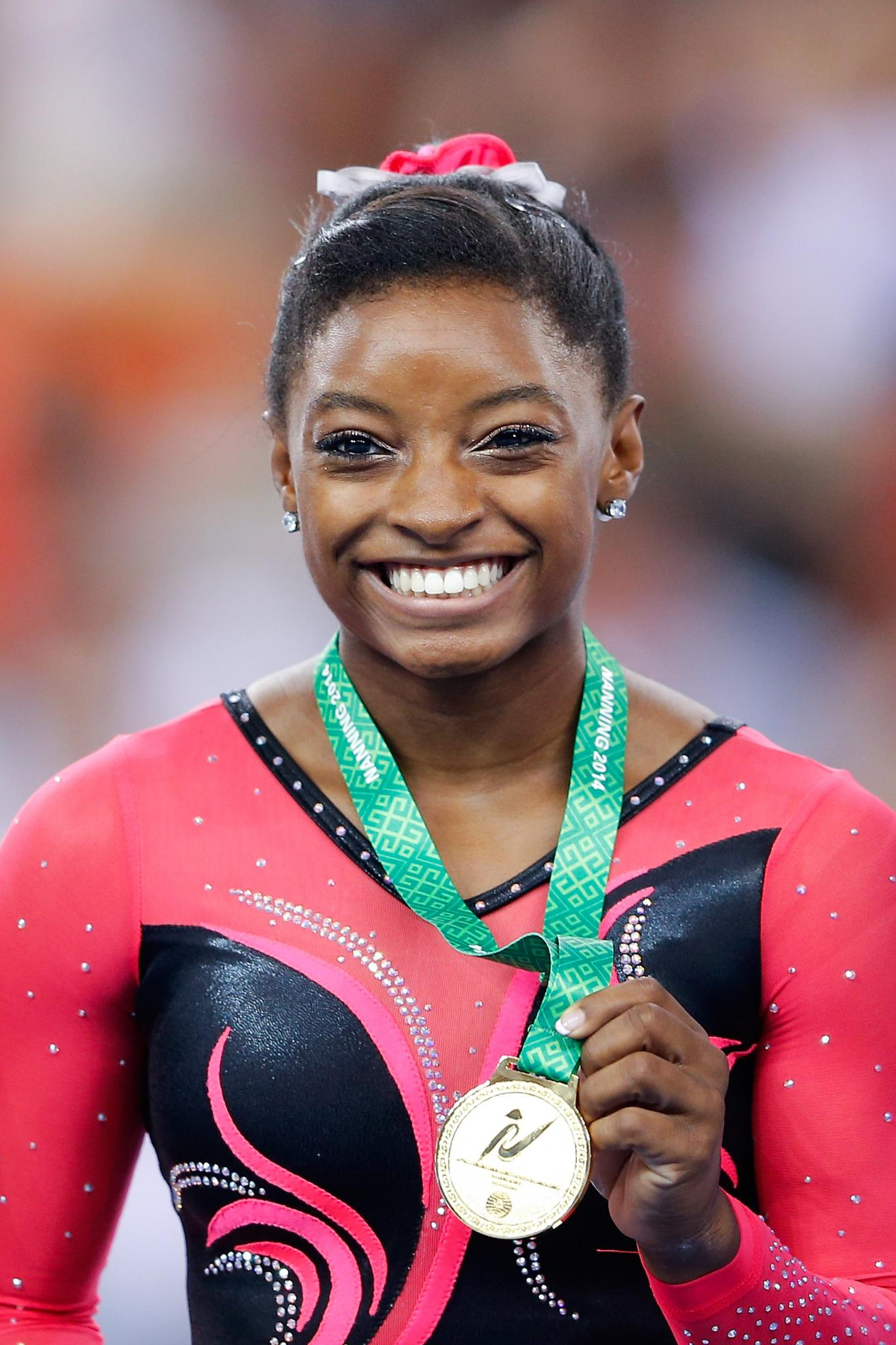 Meet Simone Biles, The 'Queen Bee' of the World Gymnastics Championship