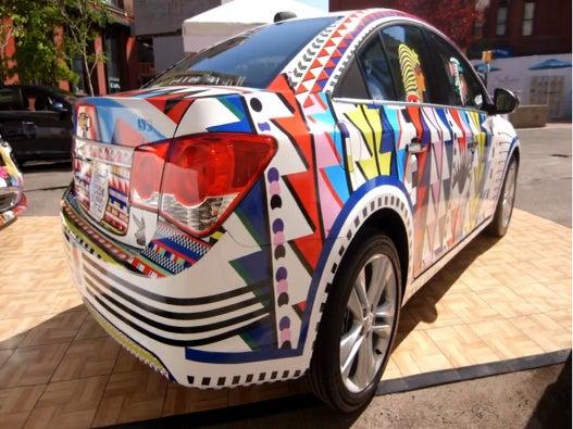 SPONSORED: Chevrolet Custom Art Installations