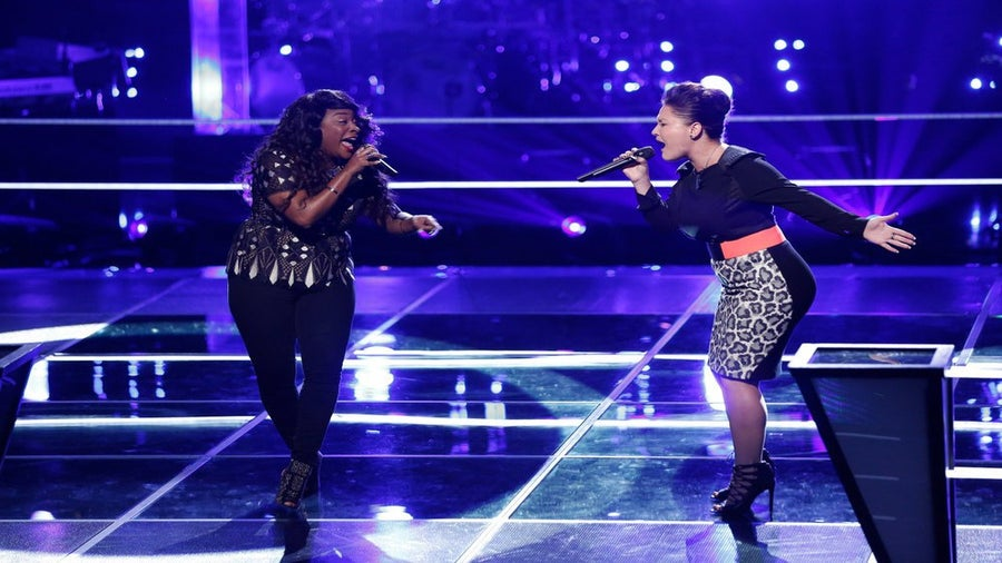 Must-See: 'The Voice' Contestants Toia Jones and DaNica Shirey Sing Beyoncé's 'Halo'