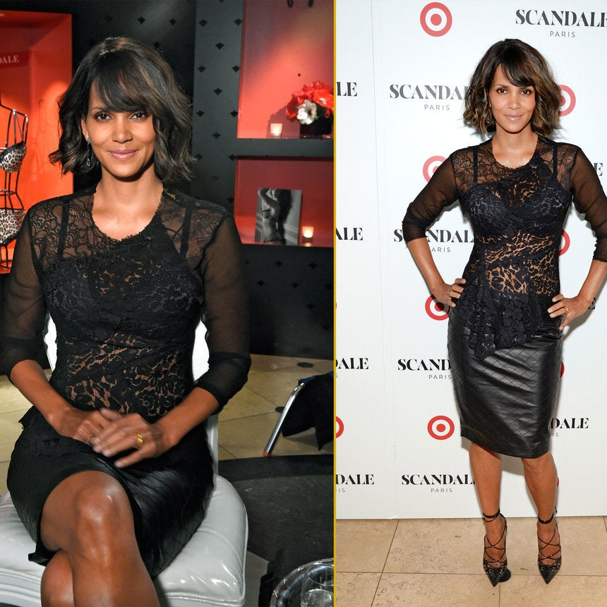 Halle Berry Gets Intimate