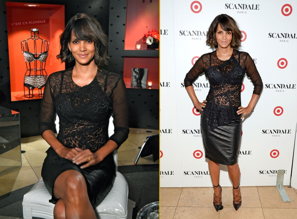 Coffee Talk: Halle Berry Launches New Lingerie Line