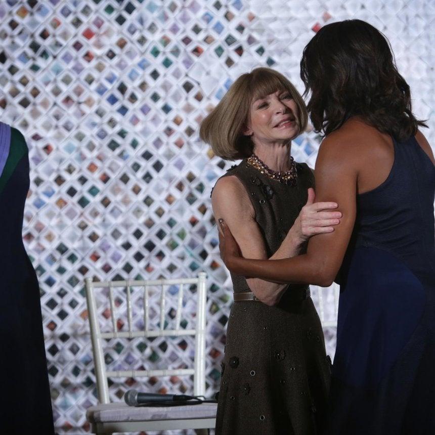 Michelle Obama's #Fashionedu Event