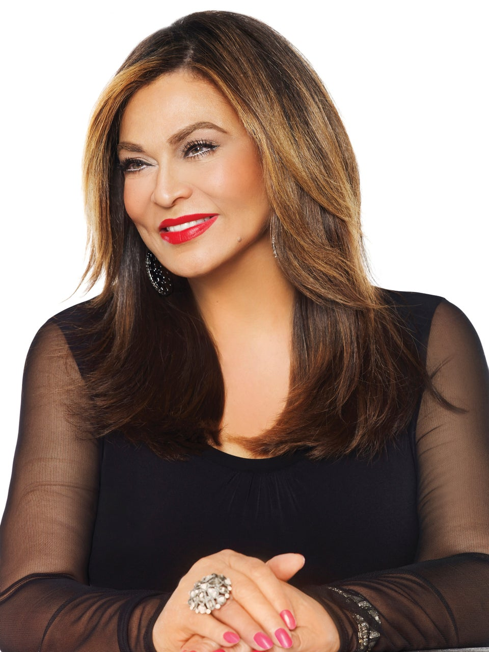 Tina Knowles-Lawson Was Not About To Waste A Full Face Of Makeup