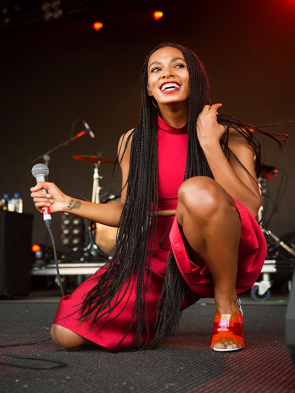Solange Delays Sneaker Premiere to Support #BlackOutBlackFriday Protests